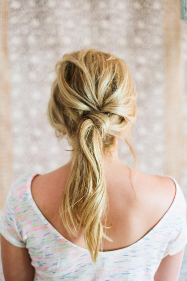 19 Cute and Easy Hairstyles that Can Be Done in 10 Minutes (17)