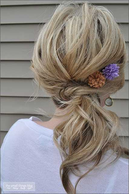 19 Cute and Easy Hairstyles that Can Be Done in 10 Minutes (2)