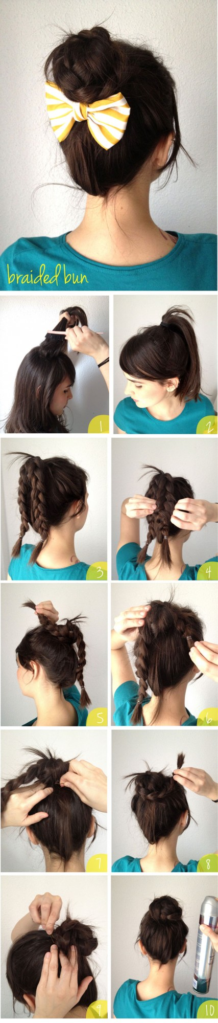 19 Cute and Easy Hairstyles that Can Be Done in 10 Minutes (6)