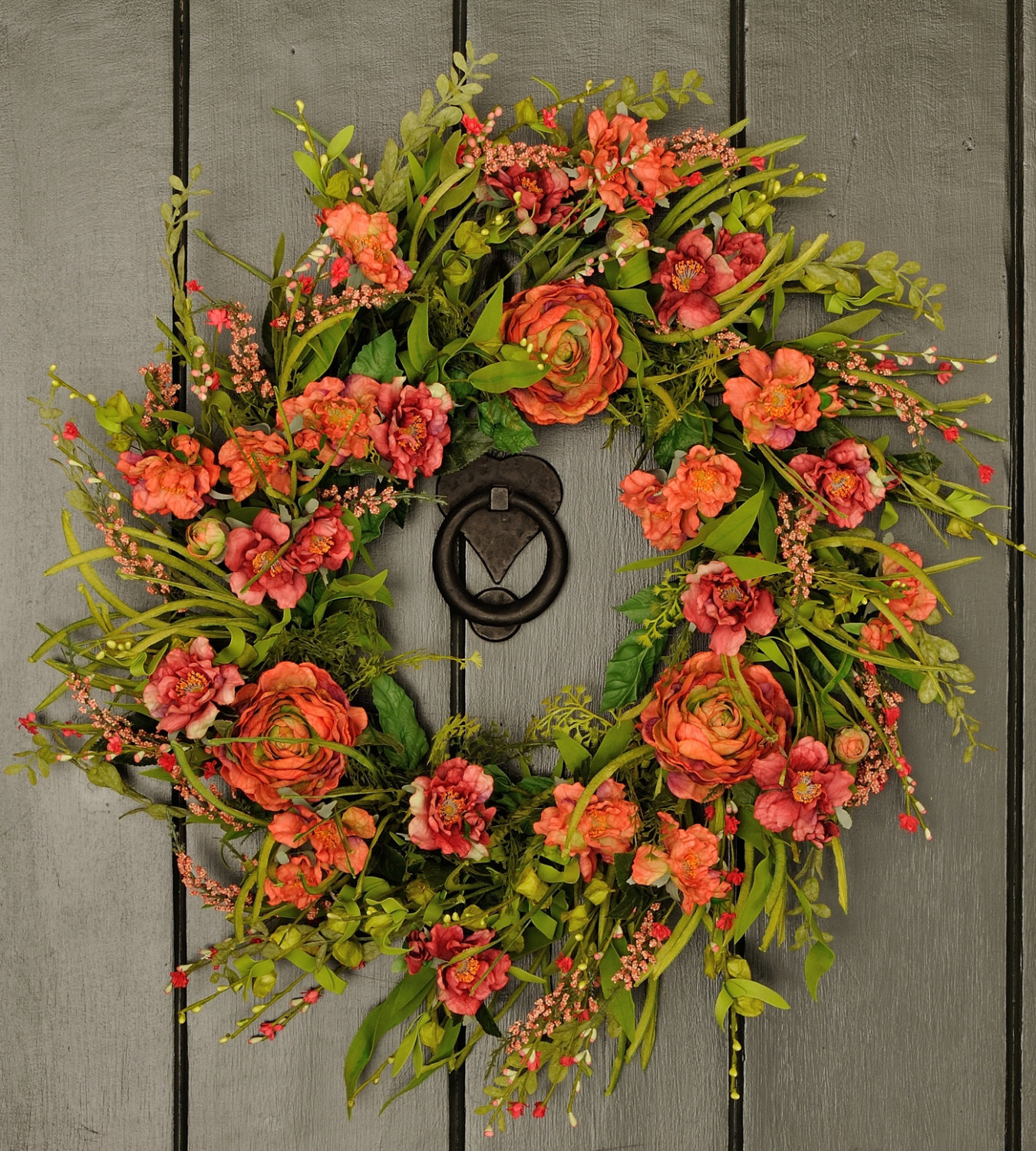 18 fresh looking handmade spring wreath ideas style motivation
