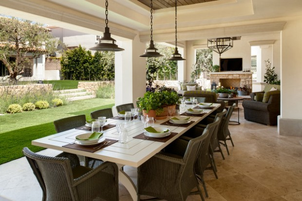 18 Amazing Outdoor Dining Room Design Ideas Part 35