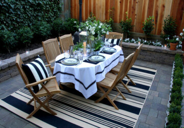 18 Amazing Outdoor Dining Room Design Ideas - outdoor table, outdoor dining room, outdoor decor, outdoor