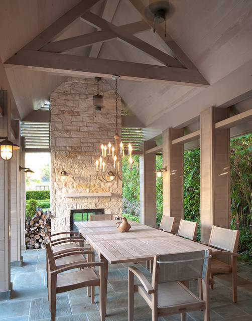 18 amazing outdoor dining room design ideas style motivation for Outdoor patio space ideas