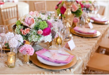 20 Beautiful Spring Wedding Decoration Ideas - wedding decor, spring wedding