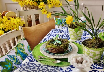 20 Beautiful Table Decoration Ideas for Easter - Easter table decor, Easter decorations, Easter decor, Easter