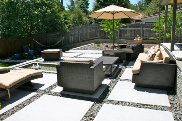 20 Cozy Chic Patio Design Ideas Perfect for Sunny Days (15)