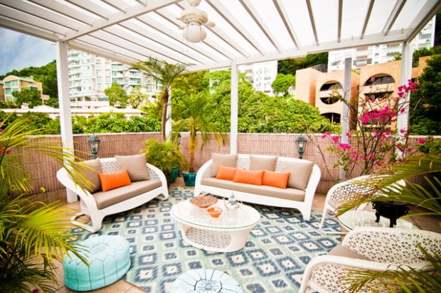 20 Cozy Chic Patio Design Ideas Perfect for Sunny Days (20)