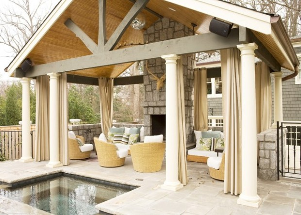 20 Cozy Chic Patio Design Ideas Perfect for Sunny Days (3)