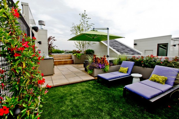 20 Cozy Chic Patio Design Ideas Perfect for Sunny Days (8)