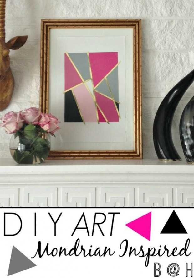 20 Creative DIY Wall Art Ideas to Decorate Your Space (8)