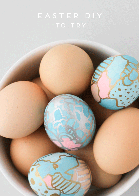 20 Creative and Easy DIY Easter Egg Decorating Ideas (2)