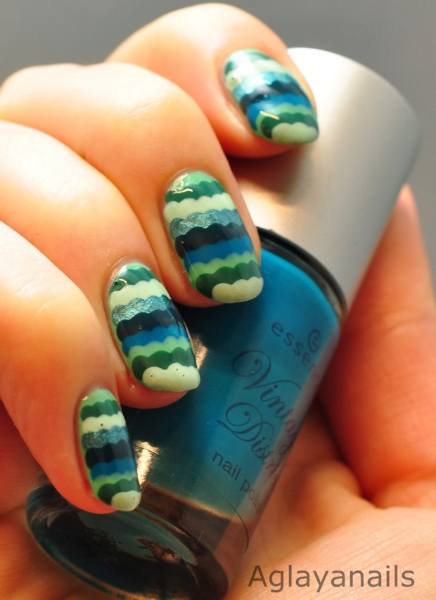 20 Cute and Funny Ruffle Nail Art Ideas - Style Motivation