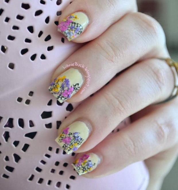 20 Cute and Trendy Nail Art Ideas for Spring (1)