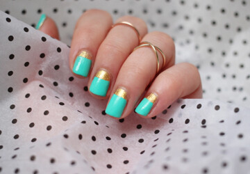 20 Cute and Trendy Nail Art Ideas for Spring - spring nail art, nail art ideas, Nail Art