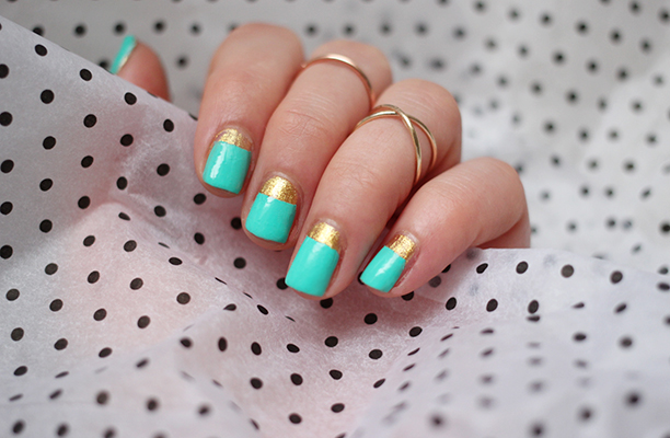20 Cute and Trendy Nail Art Ideas for Spring (17)