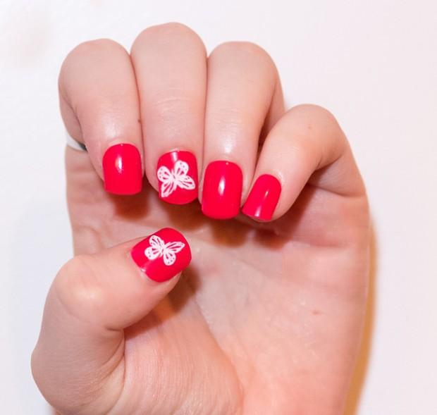 20 Cute and Trendy Nail Art Ideas for Spring (3)