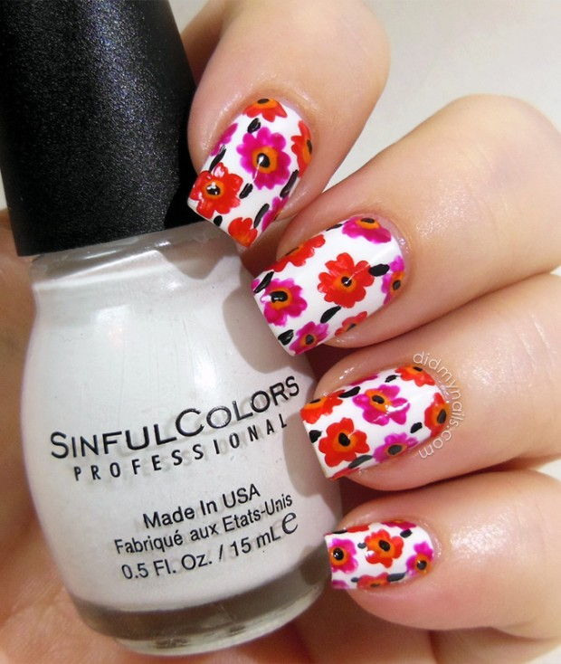 20 Cute and Trendy Nail Art Ideas for Spring (4)