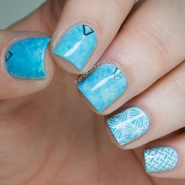 20 Cute and Trendy Nail Art Ideas for Spring (5)