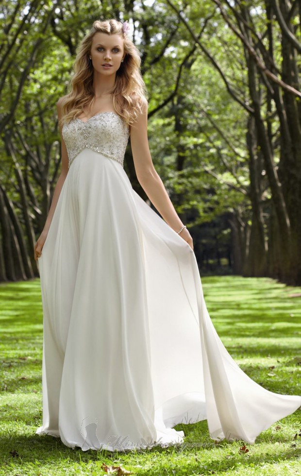 20 Elegant Strapless Wedding Dresses (11)