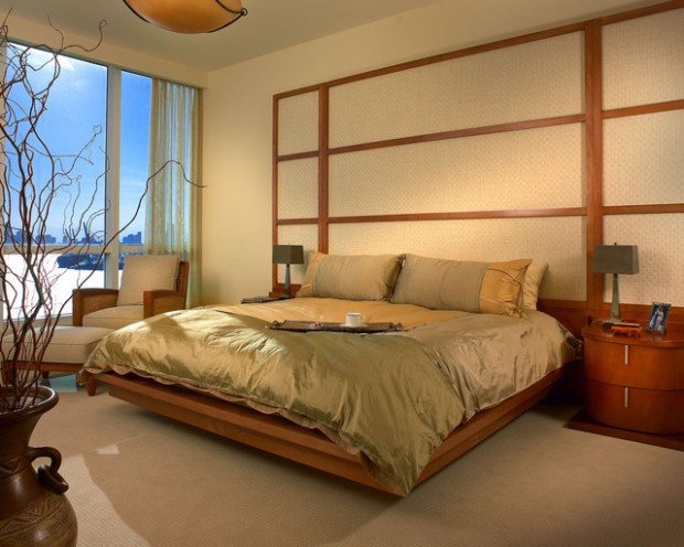 20 zen master bedroom design ideas for relaxing ambience style motivation - Japanisches schlafzimmer ...