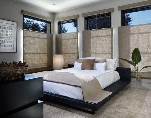 20 zen master bedroom design ideas for relaxing ambience for Relaxing master bedroom designs