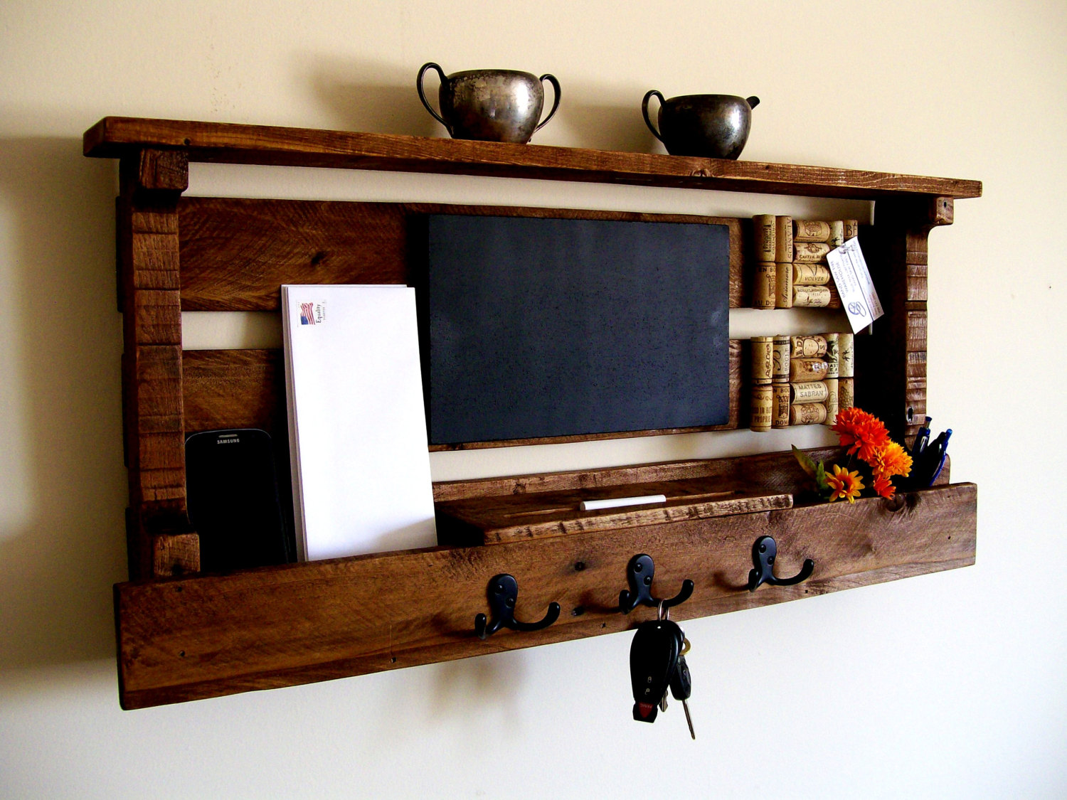 22 Country Style DIY Projects From Reclaimed Wood - Style ...