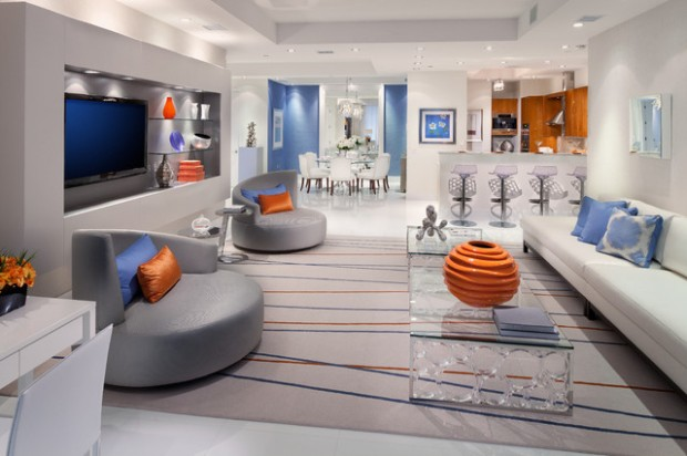 futuristic living room 22 futuristic interior design ideas style motivation 10515