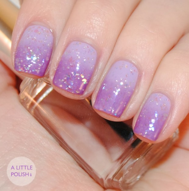 24 Beautiful Purple Nail Art Ideas (10)