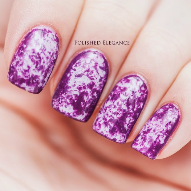 24 Beautiful Purple Nail Art Ideas (15)