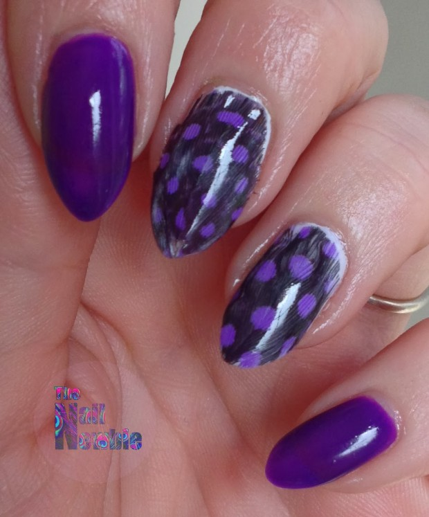 24 Beautiful Purple Nail Art Ideas (16)