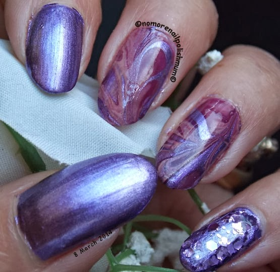 24 Beautiful Purple Nail Art Ideas (2)