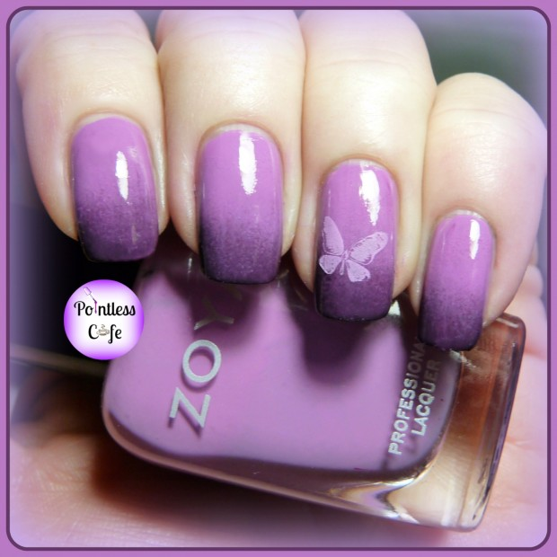 24 Beautiful Purple Nail Art Ideas (20)