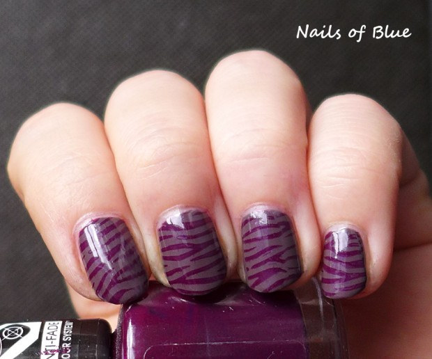 24 Beautiful Purple Nail Art Ideas (23)