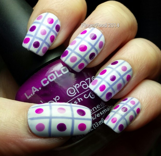 24 Beautiful Purple Nail Art Ideas (4)