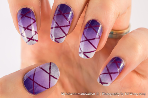 24 Beautiful Purple Nail Art Ideas (5)