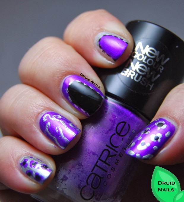 24 Beautiful Purple Nail Art Ideas (6)