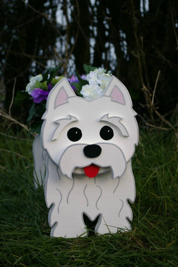 24 Outstandingly Cute DIY Canine Planters (1)