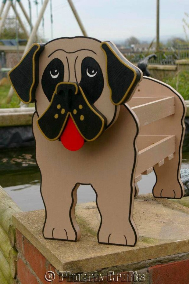 24 Outstandingly Cute DIY Canine Planters (15)