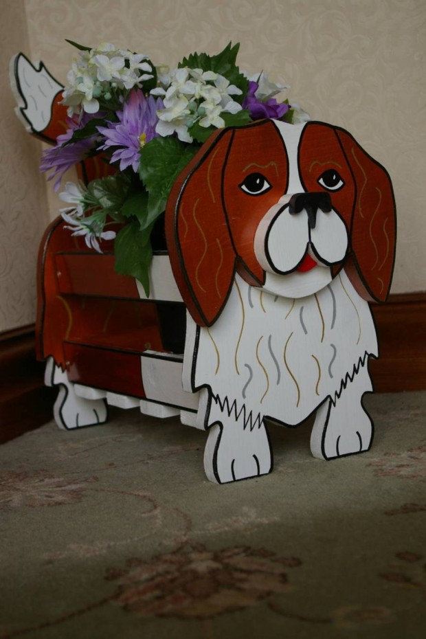 24 Outstandingly Cute DIY Canine Planters (23)