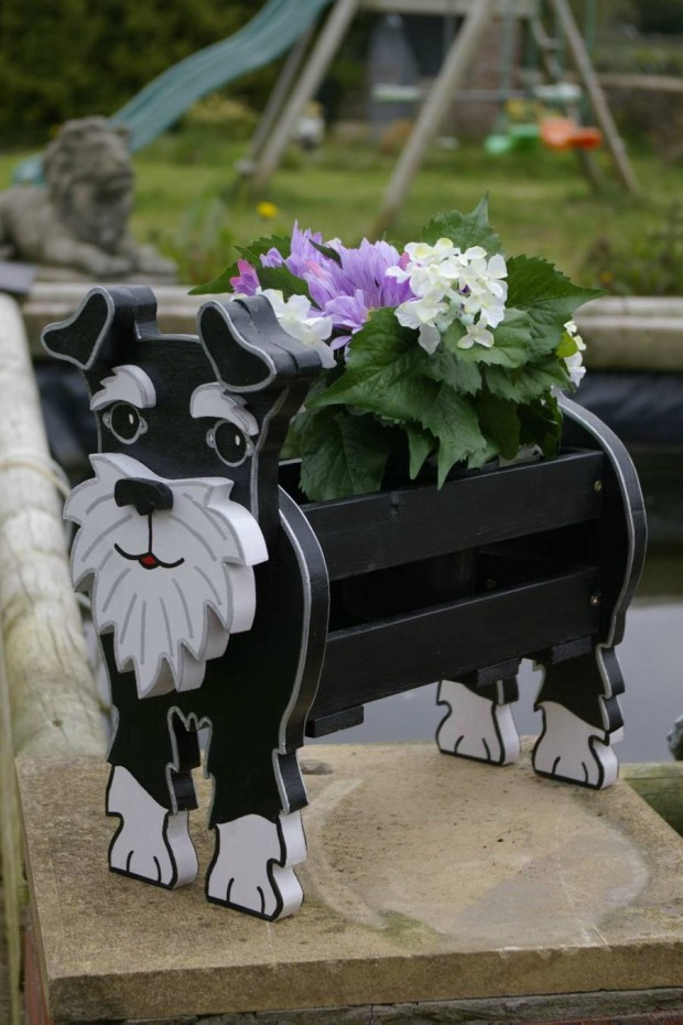 24 Outstandingly Cute DIY Canine Planters (6)