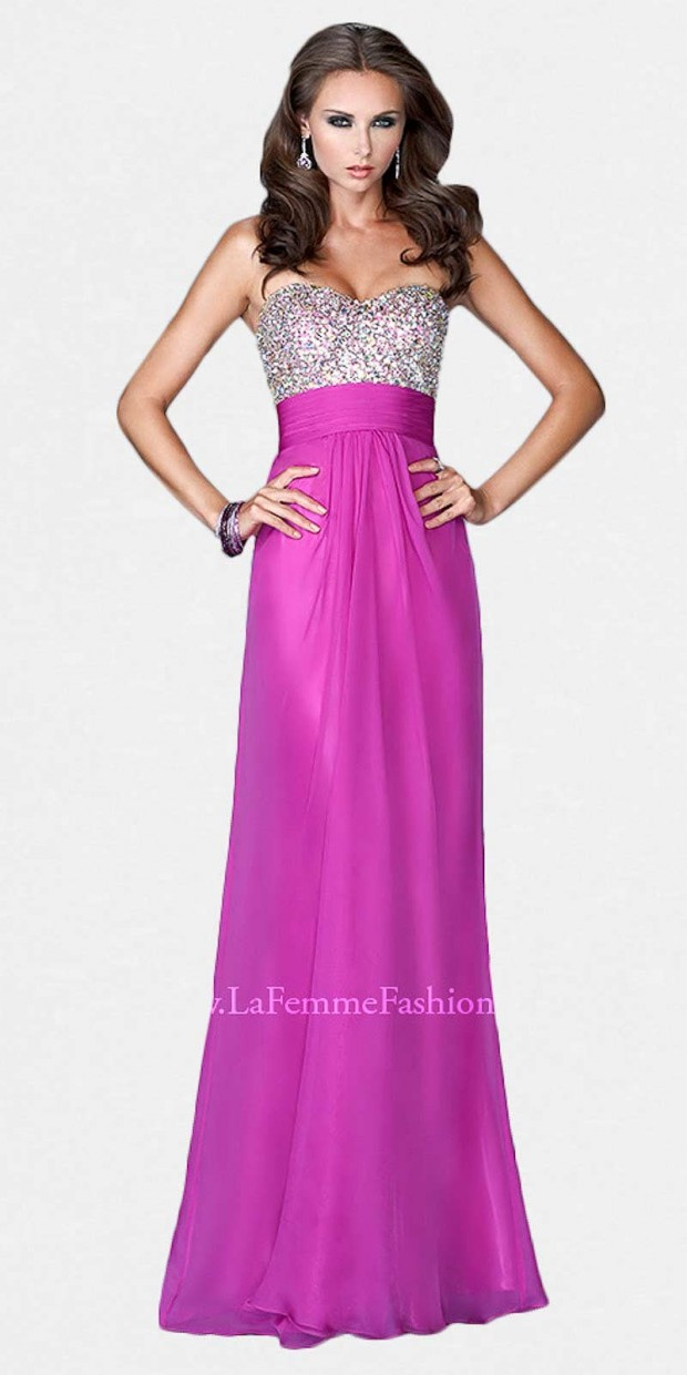 20 Elegant Long Prom Dresses