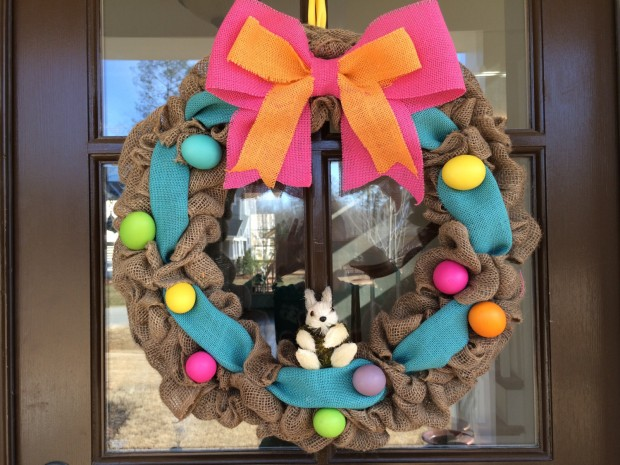 26 Creative and Easy Handmade Easter Wreath Designs (13)