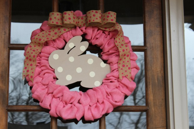 26 Creative and Easy Handmade Easter Wreath Designs (17)