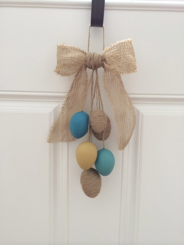 26 Creative and Easy Handmade Easter Wreath Designs (5)