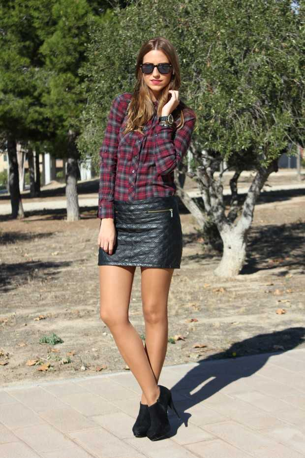 18 Fancy Leather Skirts For Your Look Improvement