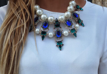 20 Most Glamorous Necklaces in Modern Style - necklace, Glamorous necklace, accessory