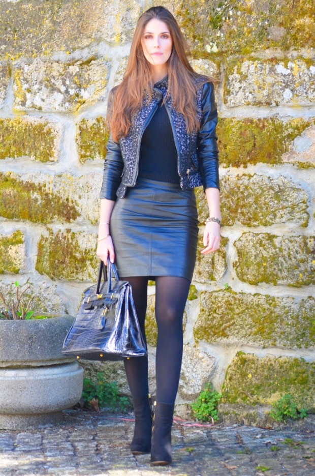 Womens in leather skirt pics – Fashionable skirts 2017 photo blog