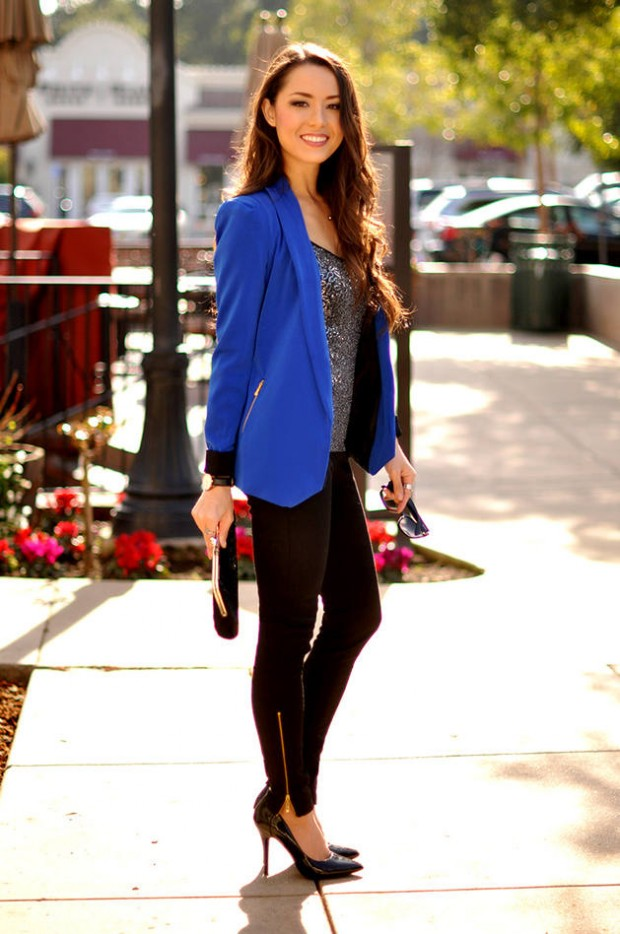Cobalt Blue for Powerful Stylish Look 20 Outfit Ideas (10)