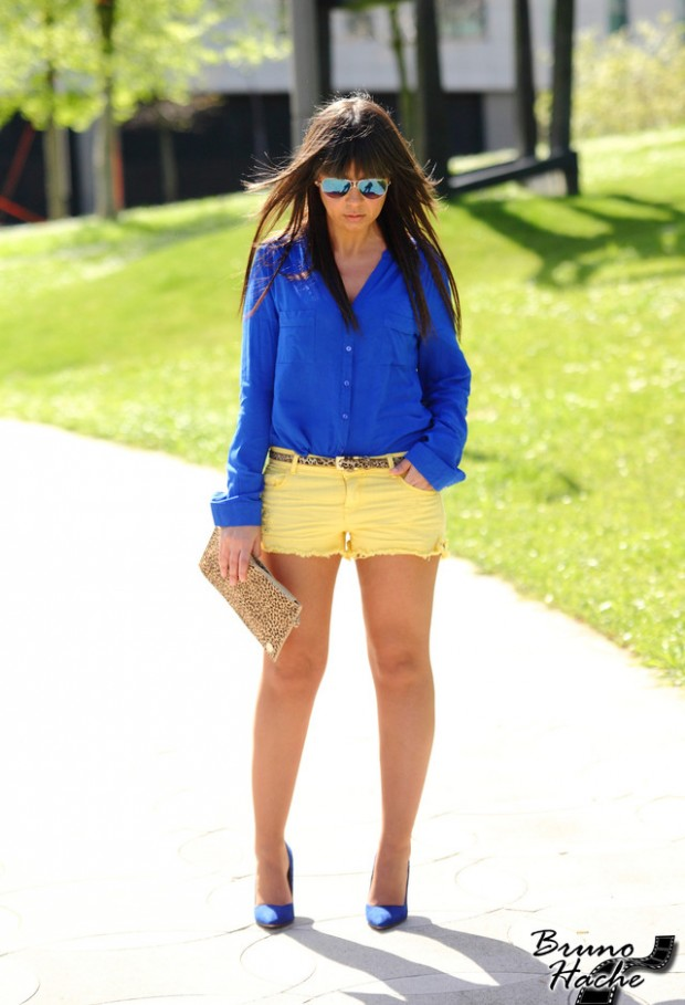 Cobalt Blue for Powerful Stylish Look 20 Outfit Ideas (13)