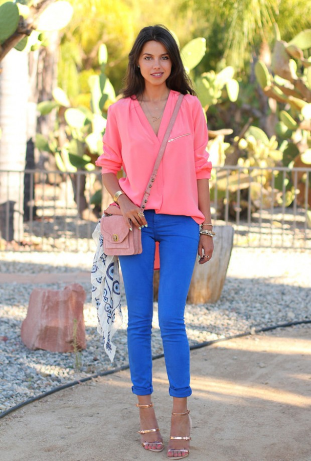 Cobalt Blue for Powerful Stylish Look 20 Outfit Ideas (14)